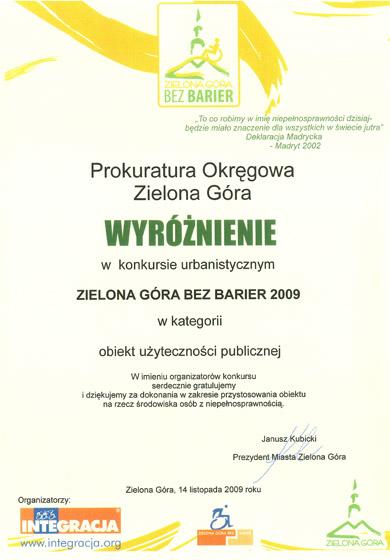 Wzory Pism Prokuratura Okręgowa W Zielonej Górze
